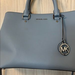 Michael Kors Large Saffiano Leather Satchel